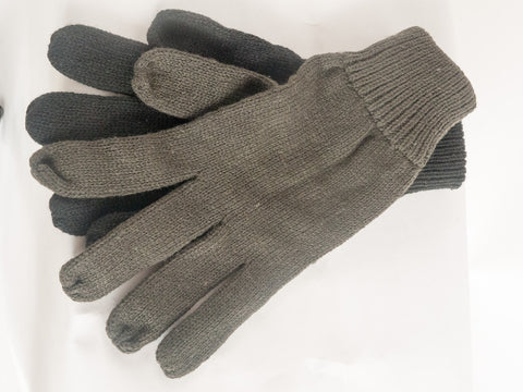 Acrylic woolly gloves