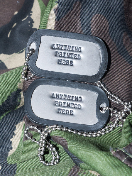 Army Dog Tags Golding Surplus