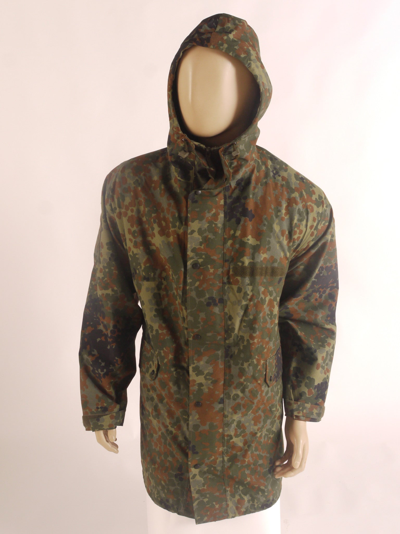 German flektarn camo waterproof jacket.