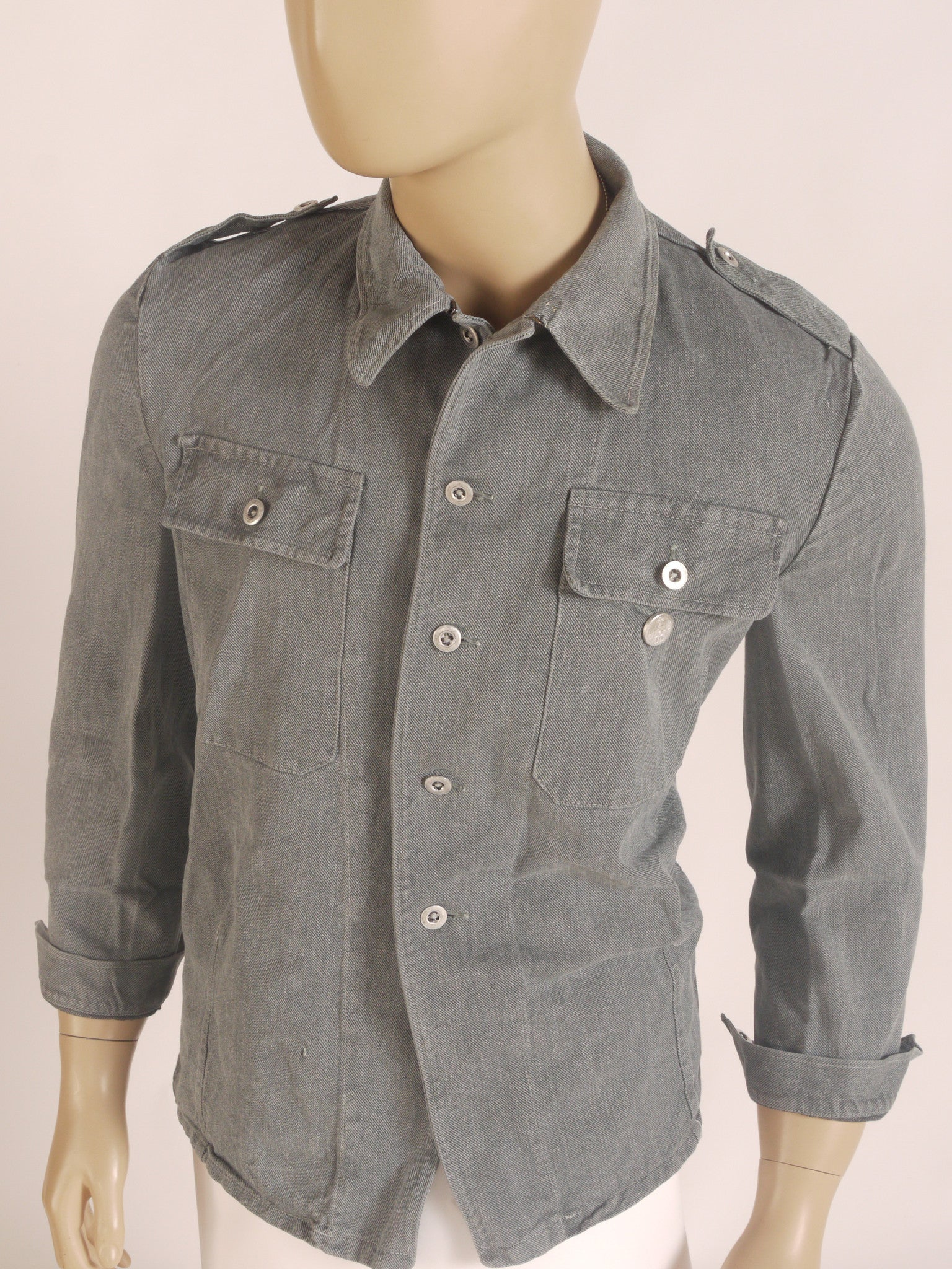 Swedish denim shirt/jacket