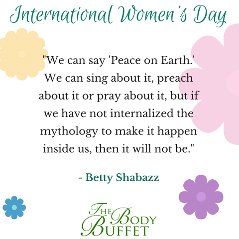 Betty Shabazz quote