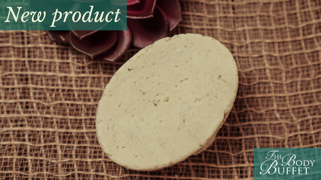 Bentonite & Tucuma Shampoo Bar Soap with Oat Milk, Citrus Essential Oils