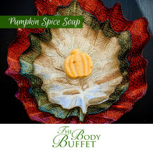 Load image into Gallery viewer, Pumpkin Spice Soap Artisan Bar Handmade Autumn Fall Gifts Vegan