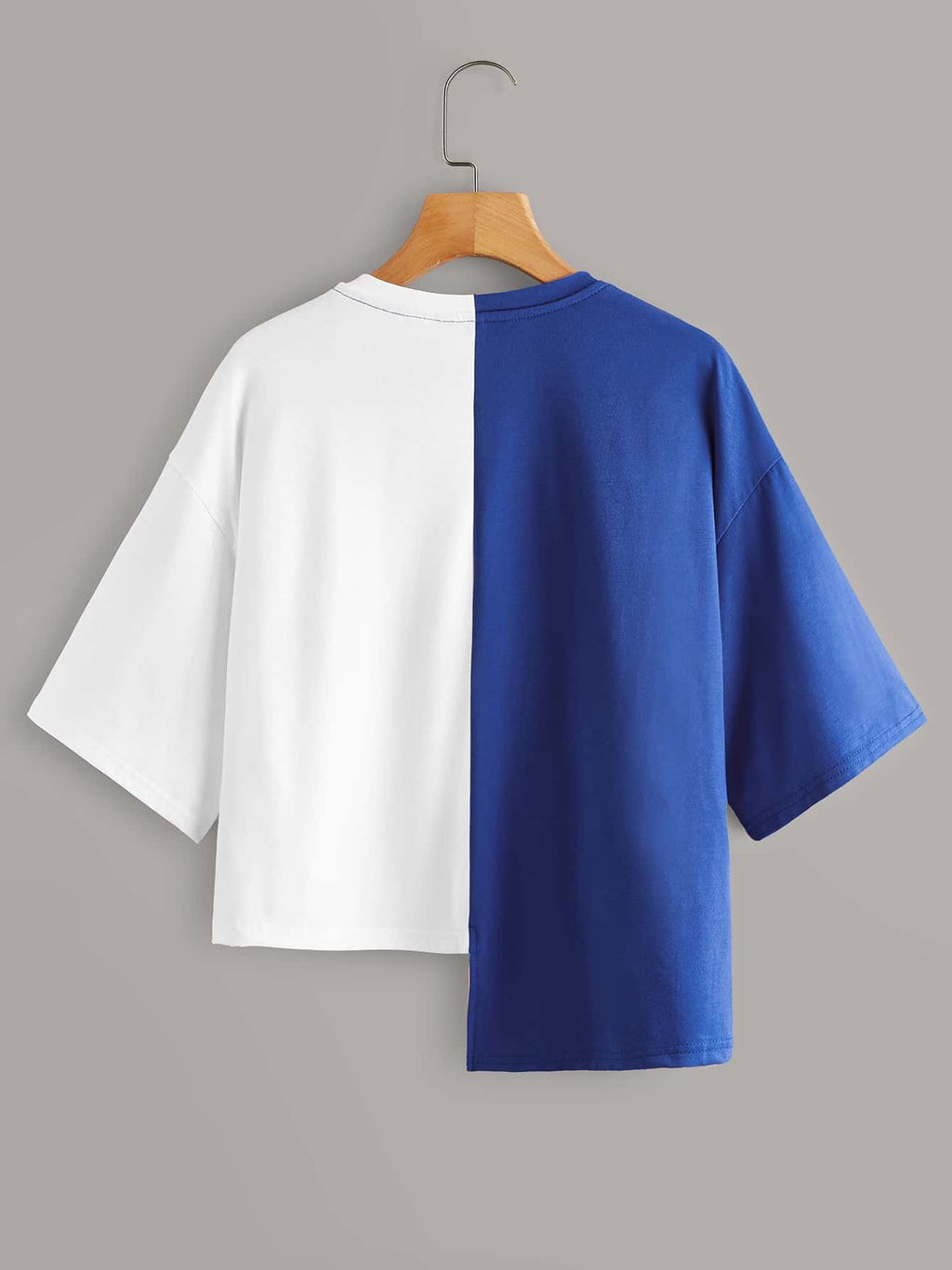 Colorblock Namdoze Graphic Step-Hem Tee