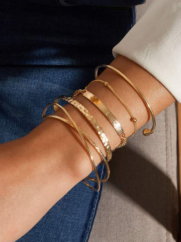 5pcs Minimalist Bracelet - INS | Online Fashion Free Shipping Clothing, Dresses, Tops, Shoes