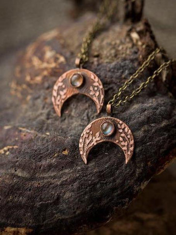 Alloy Moon Bohemian Necklace - INS | Online Fashion Free Shipping Clothing, Dresses, Tops, Shoes