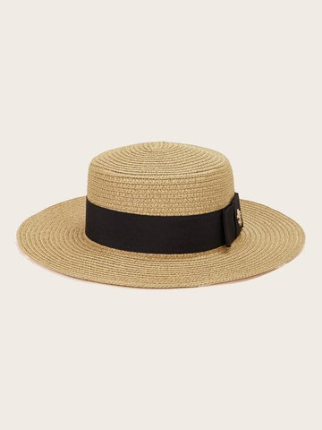 Bee Decor Straw Hat - INS | Online Fashion Free Shipping Clothing, Dresses, Tops, Shoes