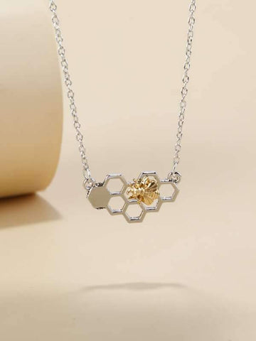Bee Hive Decor Necklace - INS | Online Fashion Free Shipping Clothing, Dresses, Tops, Shoes