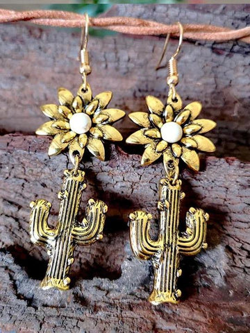 Cactus Earrings - INS | Online Fashion Free Shipping Clothing, Dresses, Tops, Shoes