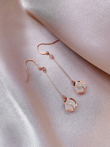 Cat Eye Stone Drop Earrings - INS | Online Fashion Free Shipping Clothing, Dresses, Tops, Shoes