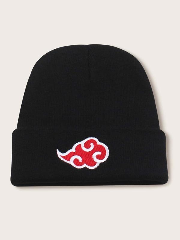 Chinese Cloud Embroidery Beanie - INS | Online Fashion Free Shipping Clothing, Dresses, Tops, Shoes