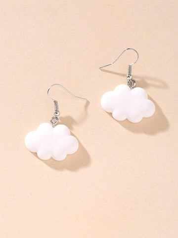 Cloud Charm Drop Earrings - INS | Online Fashion Free Shipping Clothing, Dresses, Tops, Shoes