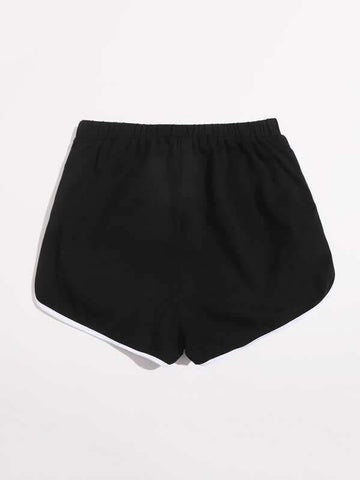 Contrast Binding Track Shorts - INS | Online Fashion Free Shipping Clothing, Dresses, Tops, Shoes
