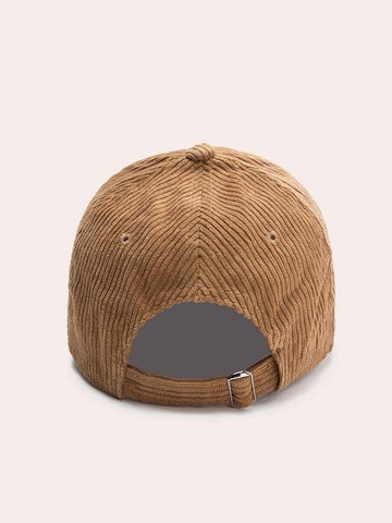 Corduroy Baseball Cap - INS | Online Fashion Free Shipping Clothing, Dresses, Tops, Shoes