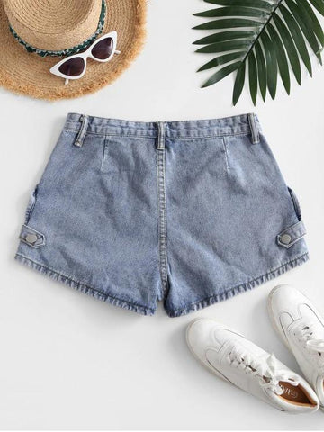 Cotton Jean Shorts - INS | Online Fashion Free Shipping Clothing, Dresses, Tops, Shoes