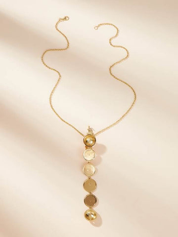 Detachable Lock Charm Chain Necklace 1pc - INS | Online Fashion Free Shipping Clothing, Dresses, Tops, Shoes