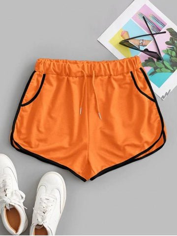 Drawstring Running Shorts - INS | Online Fashion Free Shipping Clothing, Dresses, Tops, Shoes