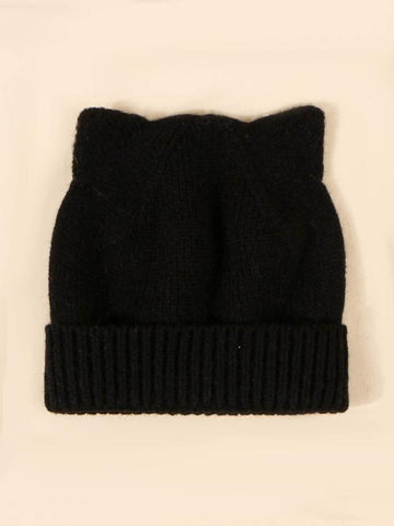 Ear Design Beanie - INS | Online Fashion Free Shipping Clothing, Dresses, Tops, Shoes