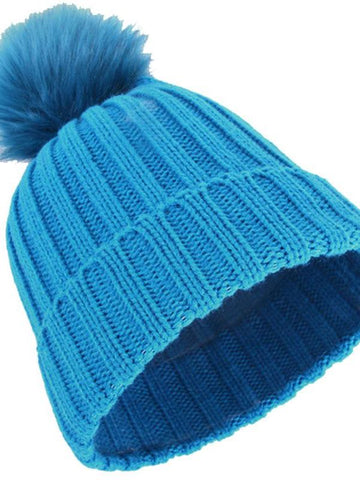 Female Winter Warm Knit Hat - INS | Online Fashion Free Shipping Clothing, Dresses, Tops, Shoes