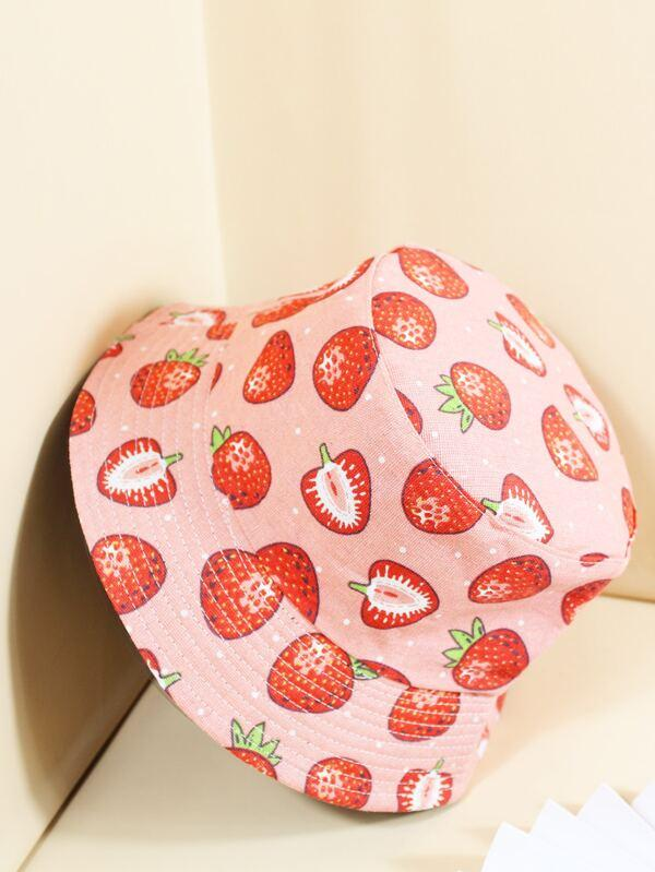 Fruit Pattern Bucket Hat - INS | Online Fashion Free Shipping Clothing, Dresses, Tops, Shoes