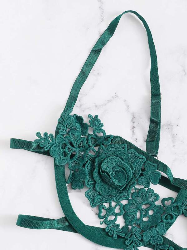 Harness Appliques Lingerie Set - INS | Online Fashion Free Shipping Clothing, Dresses, Tops, Shoes