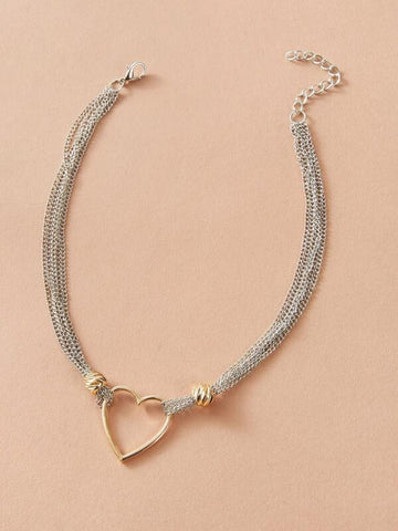 Heart Decor Choker - INS | Online Fashion Free Shipping Clothing, Dresses, Tops, Shoes