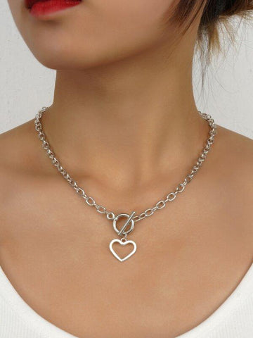 Heart Pendant Necklace - INS | Online Fashion Free Shipping Clothing, Dresses, Tops, Shoes