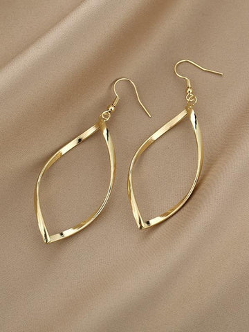 Hollow Out Distorted Earrings - INS | Online Fashion Free Shipping Clothing, Dresses, Tops, Shoes
