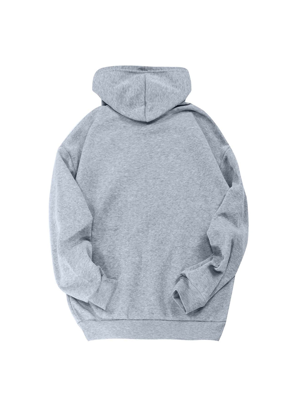 Kangaroo Pocket Thermal Lined Drawstring Hoodie - INS | Online Fashion Free Shipping Clothing, Dresses, Tops, Shoes