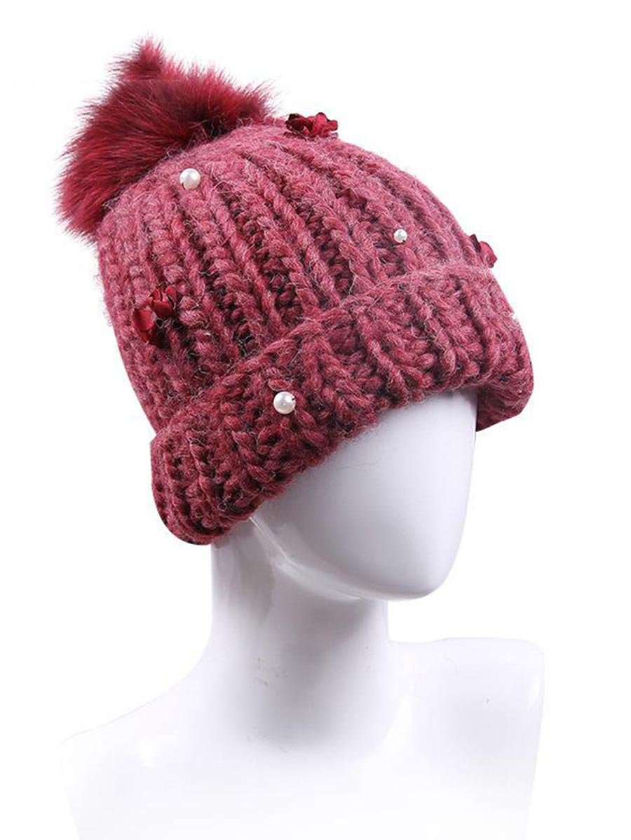 Knitted Woolen Hat - INS | Online Fashion Free Shipping Clothing, Dresses, Tops, Shoes