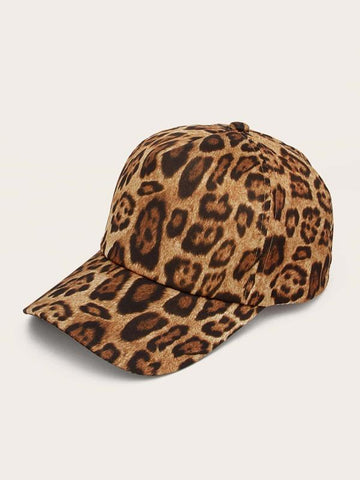 Leopard Pattern Baseball Cap - INS | Online Fashion Free Shipping Clothing, Dresses, Tops, Shoes