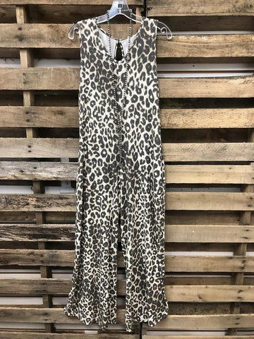 Leopard Print Jumpsuit - INS | Online Fashion Free Shipping Clothing, Dresses, Tops, Shoes