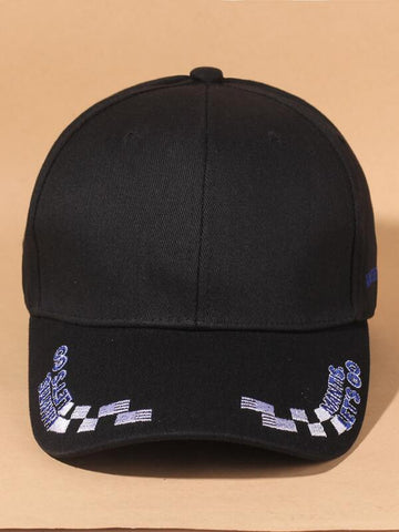 Letter Embroidered Baseball Cap - INS | Online Fashion Free Shipping Clothing, Dresses, Tops, Shoes