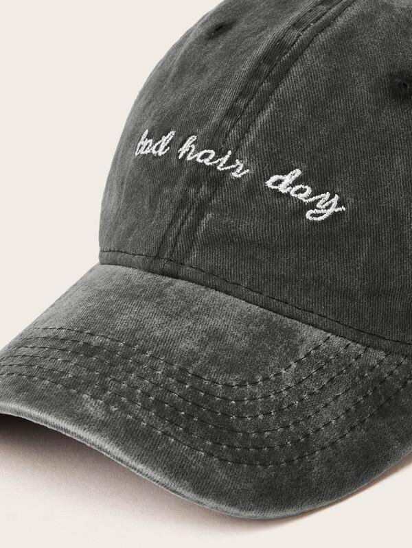 Letter Embroidery Baseball Cap - INS | Online Fashion Free Shipping Clothing, Dresses, Tops, Shoes