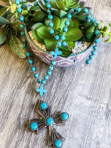 LOVE LIKE MINE NECKLACE - TURQUOISE - INS | Online Fashion Free Shipping Clothing, Dresses, Tops, Shoes