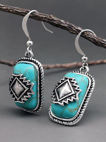 National retro earrings - INS | Online Fashion Free Shipping Clothing, Dresses, Tops, Shoes