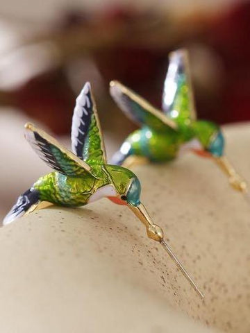 Personalized cute hummingbird earrings - INS | Online Fashion Free Shipping Clothing, Dresses, Tops, Shoes