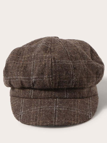 Plaid Baker Boy Hat - INS | Online Fashion Free Shipping Clothing, Dresses, Tops, Shoes