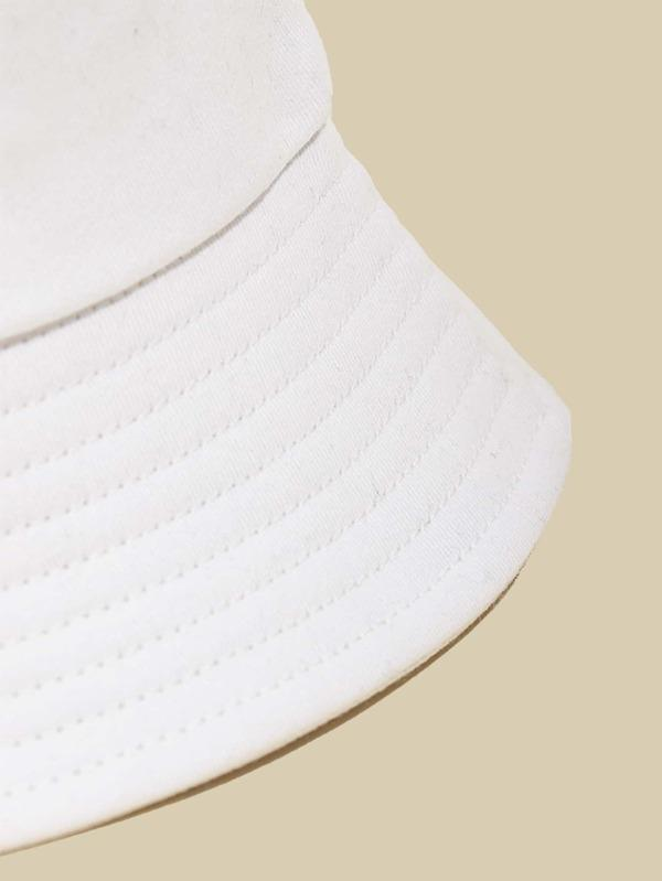 Plain Bucket Hat - INS | Online Fashion Free Shipping Clothing, Dresses, Tops, Shoes