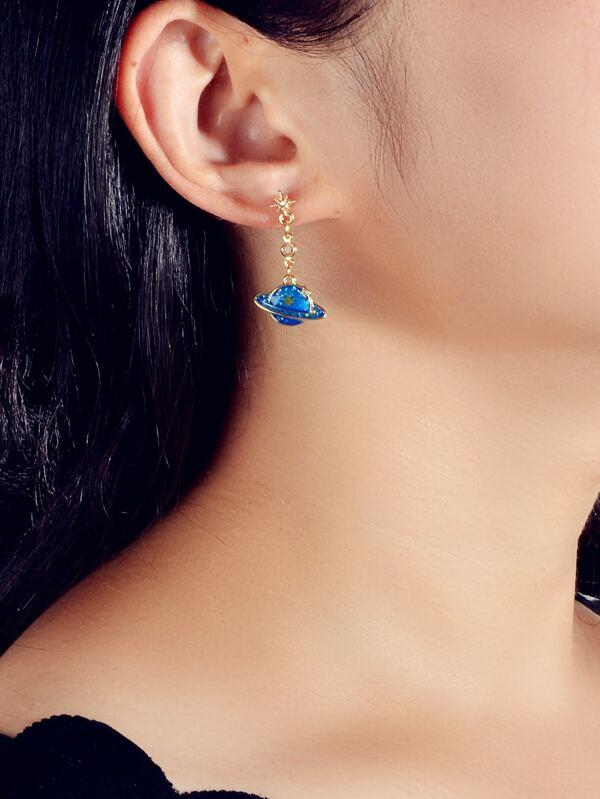 Planet Drop Earrings - INS | Online Fashion Free Shipping Clothing, Dresses, Tops, Shoes