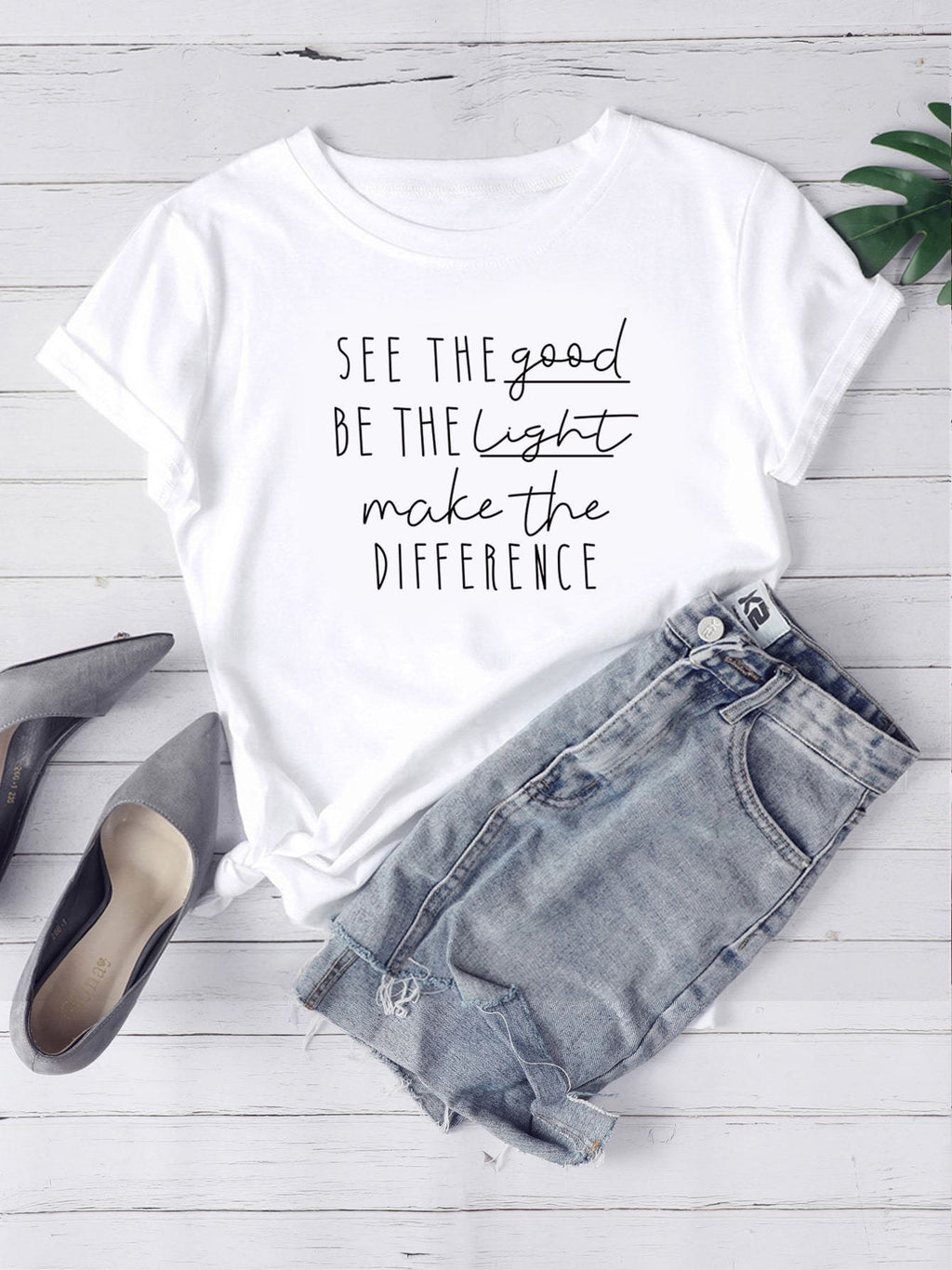 See The Good Graphic Tee - INS | Online Fashion Free Shipping Clothing, Dresses, Tops, Shoes