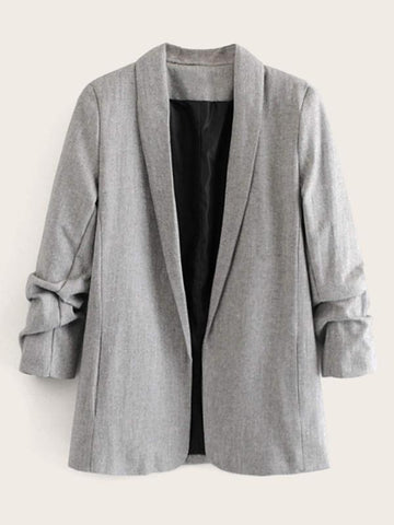 Shawl Collar Space Dye Blazer - INS | Online Fashion Free Shipping Clothing, Dresses, Tops, Shoes