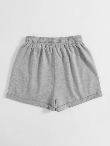 Slant Pocket Drawstring Waist Track Shorts - INS | Online Fashion Free Shipping Clothing, Dresses, Tops, Shoes