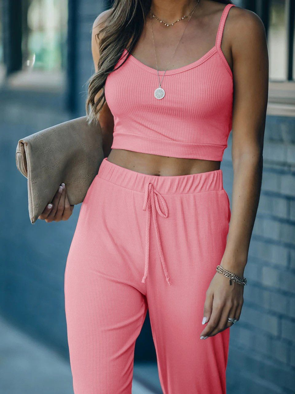 Slim Elastic Women Crop - INS | Online Fashion Free Shipping Clothing, Dresses, Tops, Shoes