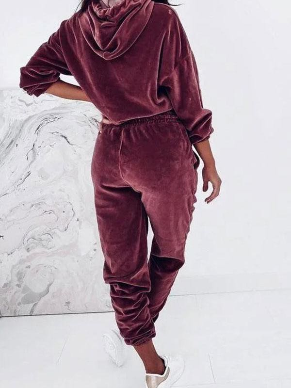 Solid Color Modern Pants Suit - INS | Online Fashion Free Shipping Clothing, Dresses, Tops, Shoes