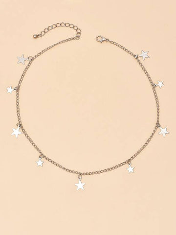 Star Charm Necklace - INS | Online Fashion Free Shipping Clothing, Dresses, Tops, Shoes