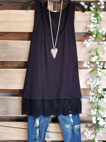STEAL YOUR LOVE EXTENDER - BLACK - INS | Online Fashion Free Shipping Clothing, Dresses, Tops, Shoes