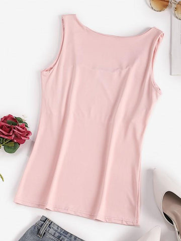 Stretch Plain Basic Tank Top - INS | Online Fashion Free Shipping Clothing, Dresses, Tops, Shoes