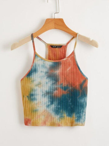 Tie Dye Cami Top - INS | Online Fashion Free Shipping Clothing, Dresses, Tops, Shoes