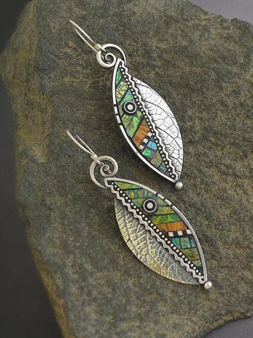 Vintage leaf earrings - INS | Online Fashion Free Shipping Clothing, Dresses, Tops, Shoes